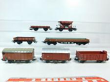 AT196-1# 7x Märklin H0/AC freight wagon DB: 364+496 391+816 701+248 847 etc.