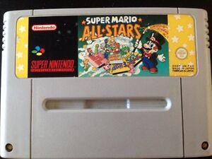 Super Mario All Stars Snes Super Nintendo PAL - France - État : Bon état: Objet ayant déj servi, mais qui est toujours en bon état. Le botier ou la pochette peut présenter des dommages mineurs, comme des éraflures, des rayures ou des fissures. Pour les CD, le livret et le texte arrire du botier s - France