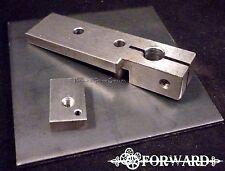 Tattoo Machine Frame Parts Base, Spring Shelf, Blank Side Plate 1018 Steel 8-32