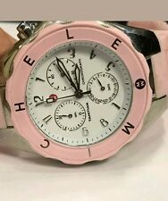 MICHELE TAHITIAN JELLY-BEAN- LARGE SWEET PINK 40MM WATCH WWW12FOOOO26