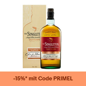 The Singleton of Dufftown Malt Master's Selection Whisky / 40% Vol. / 0,7L in GP