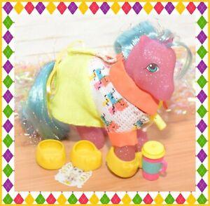 ❤️My Little Pony MLP G1 Vtg Star Dancer Sparkle MAIL ORDER & Neon Lights Wear❤️
