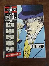 LES CAHIERS DE LA BANDE DESSINEE n°56