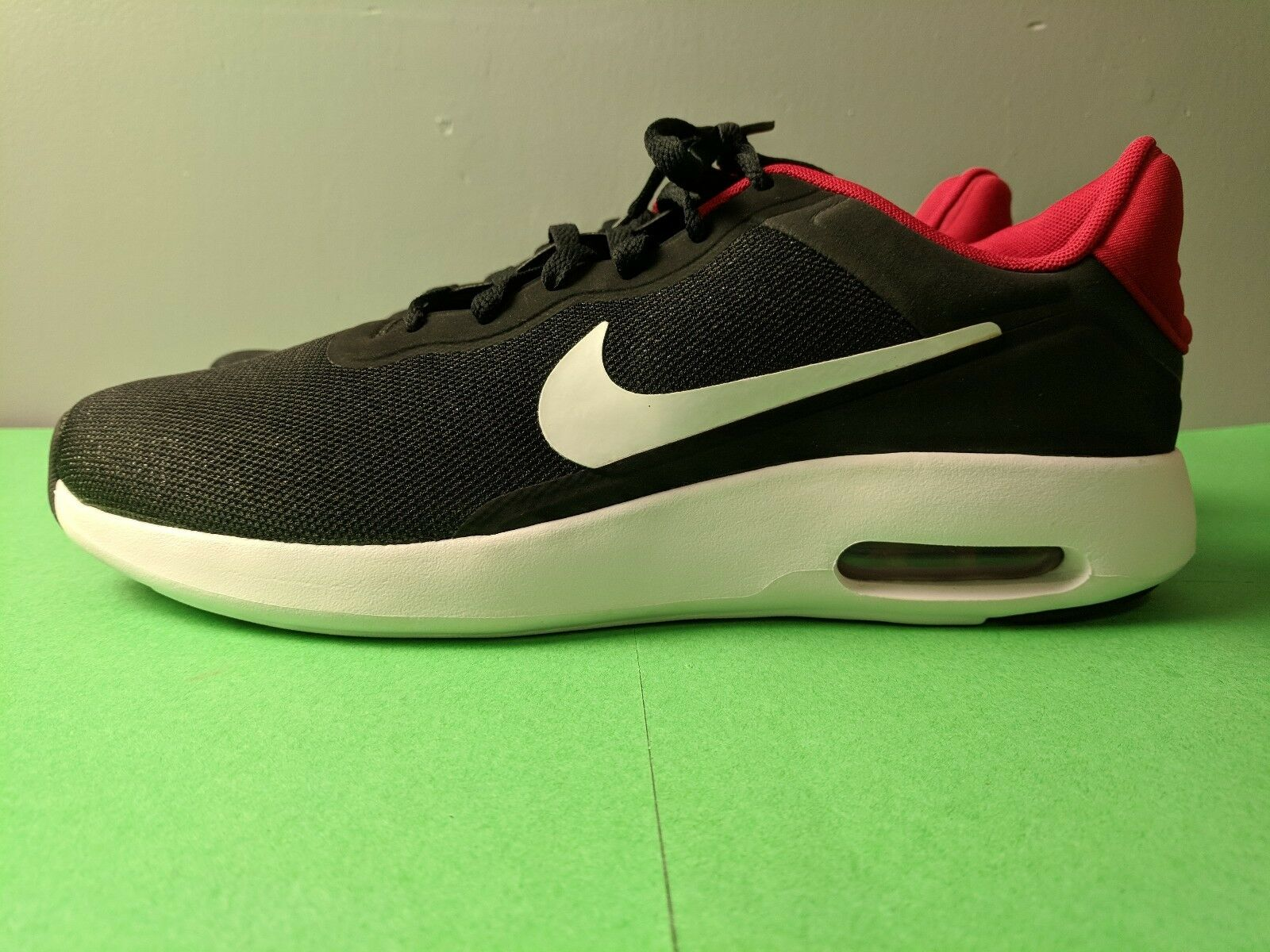 Brand New Nike Air Max Modern Essential Black White Gym Red Size 11.5 Casual