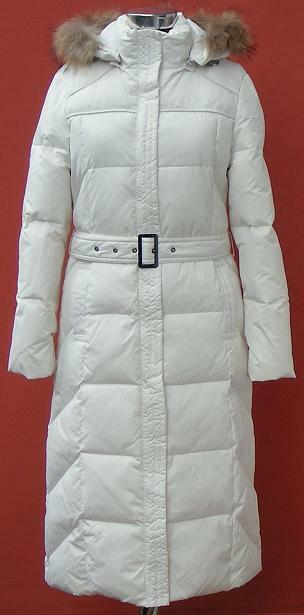 Women's Lady's Winter Down Coat (GM6088),White,M