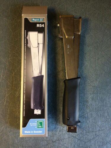 Rapid R54 Heavy Duty Hammer Tacker 10-14mm 140 Staple Full Steel Construction