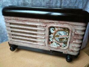 Rare antique radio 1959s Old Russian radio Old radio Radio USSR Old Soviet Radio Vintage Soviet Radio Collection Radio USSR Antique radio