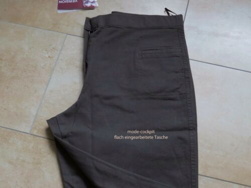 stretch lagenlook lunghi cotone 2 Pantaloni super 46 in versione in antracite 0fwqIg