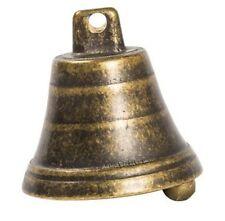 Campana Campanello in ottone brunito misura 5,5 cm da appendere o regalo
