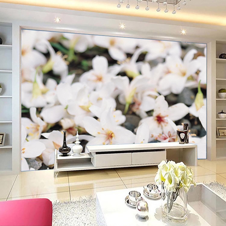3D Mega Stone Ground Flowers 546 Wall Paper Wall Print Decal Wall AJ Wall Paper