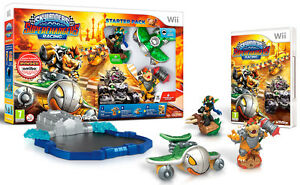 Skylanders-SuperChargers-Starter-Set-Pack-Con-Bowser-Amiibo-Nintendo-WII