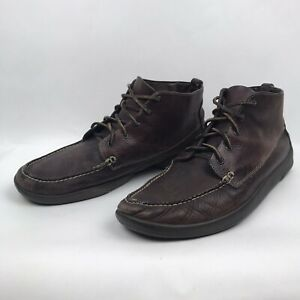 ORVIS-Mens-Chukka-Boots-Size-13-Brown-Top-Grain-Leather-Lace-Up-Goodyear-Soles