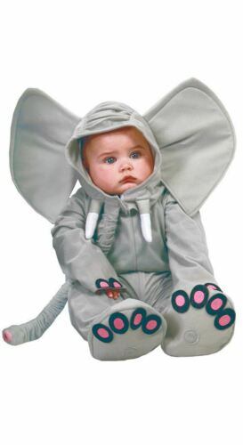 Boys Girls Toddlers Baby Elephant Fancy Dress Costume Infants Carnival Outfit