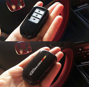 fk2 honda civic 2015 2016 carbon fibre key fob cover shell. Black Bedroom Furniture Sets. Home Design Ideas