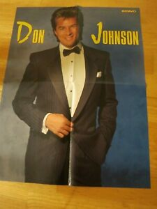 Details about DON JOHNSON Miami Vice DEPECHE MODE German POSTER Hard To Find D46