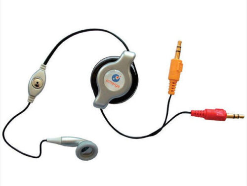 Retrak Retractable VOIP Internet Call Mic /& Headset Silver