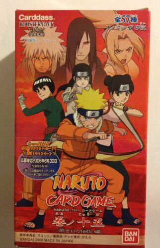 Naruto Card Game Booster Pack Part 15