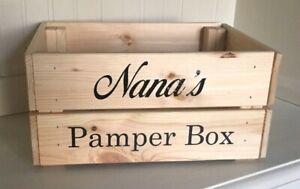 Ideal DIY Mother/'s Day Gift Nana/'s Pamper Box Vinyl Decal Sticker Bundle