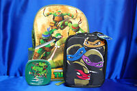 Tmnt Back Pack Tmnt Lunch Box Lunch School Set Lunch Container