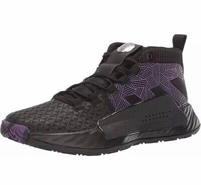 Adidas Marvel Dame 5 J Black Panther EG2627 Wakanda Forever Boy Basketball Shoes | eBay