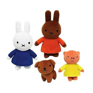 Official Miffy's Adventures Big and Small Mini Miffy & Friends Talking Plush