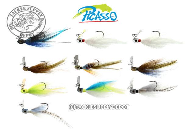 picasso special fx shock blade the natural Aaron martens black blue 1//2oz