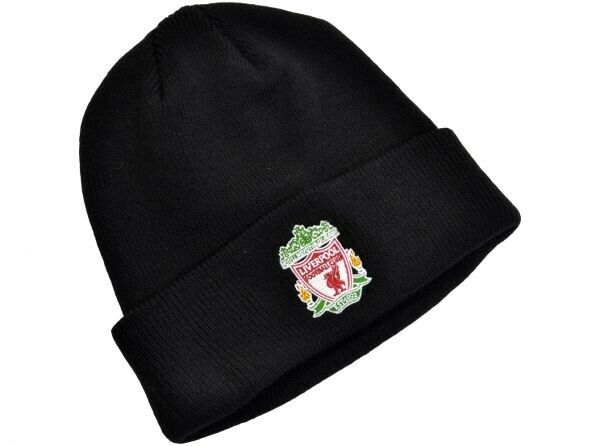 d8b76836131 Official Licensed Product Liverpool Knitted Hat Beanie Turn up Crest Gift  for sale online