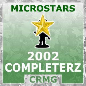 CRMG Corinthian MicroStars COLLECTOR CLUB COMPLETERZ '02 GOLD (like SoccerStarz)