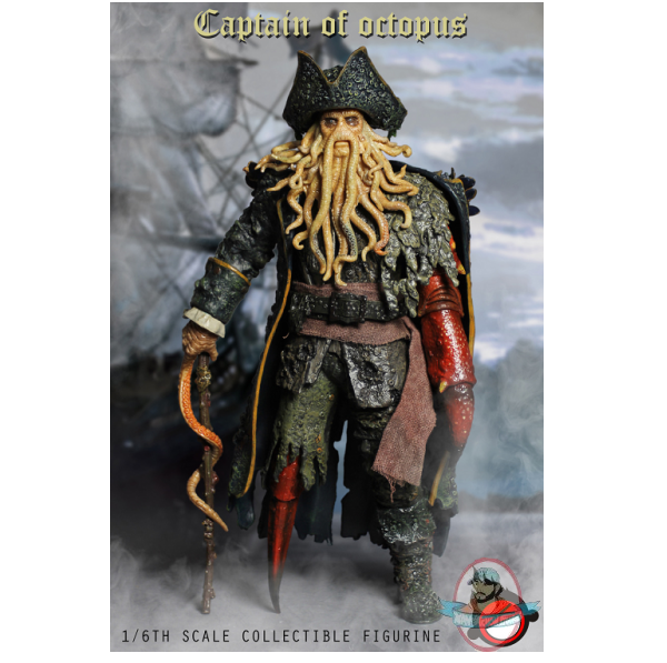 1 6 Scale Captain of Octopus Action Figure XD001 XD TOYS