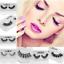 1Pair-3D-100-Mink-Hair-Natural-Long-Eye-Lashes-False-Eyelashes-Handmade-New-so miniature 3