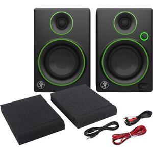mackie cr 3 coppia casse studio monitor diffusori attivi amplificati dj producer ebay. Black Bedroom Furniture Sets. Home Design Ideas