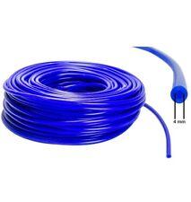 4mm ID - Silikon Unterdruck Schlauch 1m Meterware Vacuum Steuer Leitung - Blau