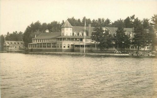 1920s Lake Spofford New Hampshire Pine Grove Springs Hotel waterfront 244