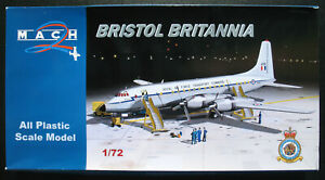 MACH-2-GP087-BRISTOL-BRITANNIA-Royal-Air-Force-Transport-1-72-Bausatz-Kit