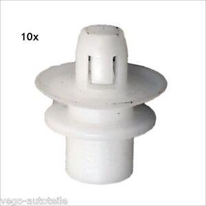 10x-STOssSTANGE-KOTFLUGEL-BEFESTIGUNG-CLIPS-SMART-FORTWO-450-451-CABRIO-COUPE