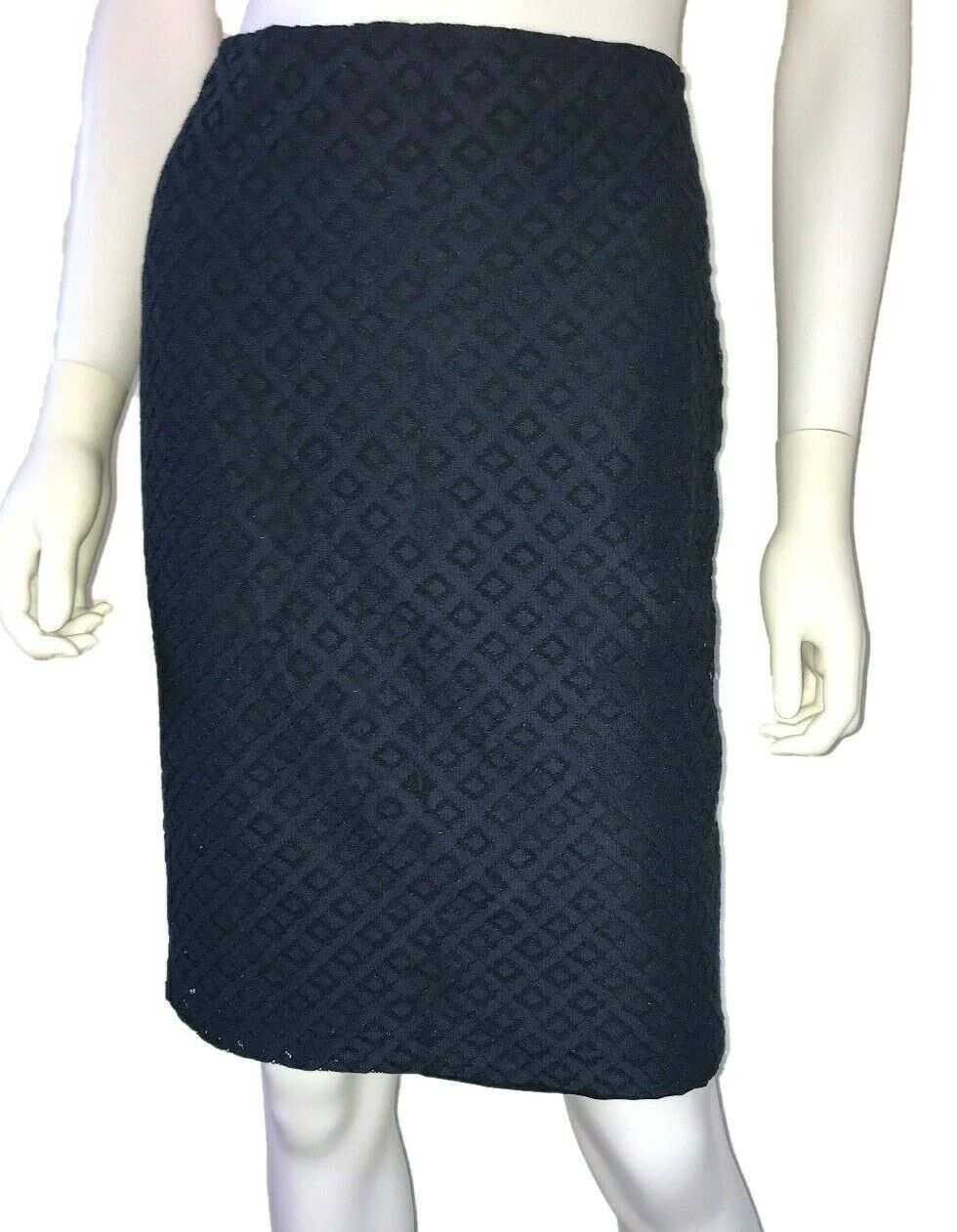 New w Tags (). St. John Pencil Skirt. Navy bluee. Available sizes  2, 6, 8