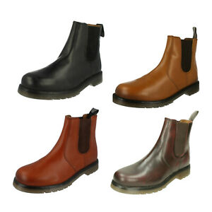 la vendita di scarpe abbigliamento sportivo ad alte prestazioni colori e suggestivi Dettagli su Uomo 01700 da Infilare Stivaletti Bassi in pelle da Catesby