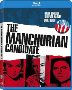 THE MANCHURIAN CANDIDATE New Sealed Blu-ray Frank Sinatra