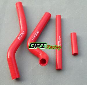 Silicone-Radiator-Hose-for-Suzuki-RM125-RM-125-2001-2008-2002-2003-04-05-06-Red