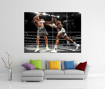 ANTHONY JOSHUA POSTER Klitschko Boxing Wall Art Print Pic Photo A3 A4