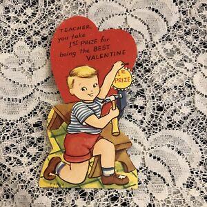 Outstanding Details About Vintage Greeting Card Valentine Bird House Boy Download Free Architecture Designs Scobabritishbridgeorg