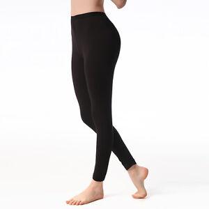 Jasmine-Silk-Damen-039-Modal-Thermo-Lange-Unterhose