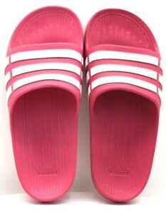 cad676843 Adidas Duramo Slide Pink   White US Size 6K - FREE SHIPPING - BRAND ...
