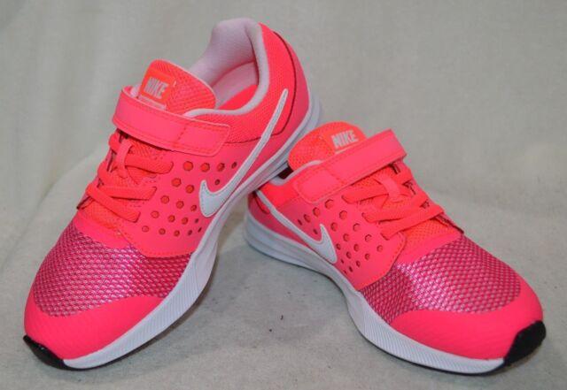 best loved 6eea4 5da92 Nike Downshifter 7 (PSV) Racer Pink White Girl s Shoes-Asst Sizes NWB