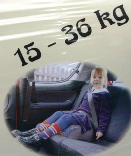Kindersitzerhöhung Kindersitz Autositz Sitzerhöhung Kinderautositz 9-36 Kg