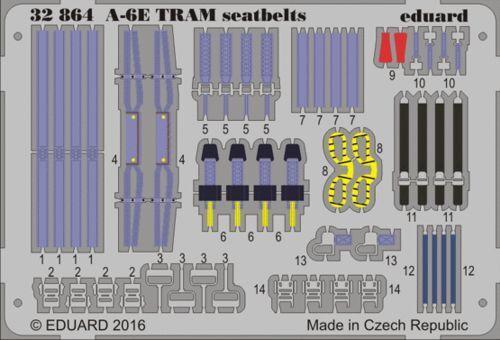 Eduard 1//32 Grunman A-6e Intruder Tram Cinture Sedili #32864