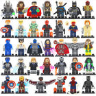 34Pcs MiniFigures Lego Super Heroes MARVEL.DC Series Batman Superman Hulk New