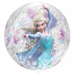 Disney-Frozen-Birthday-Party-Anna-Elsa-15-034-x-16-034-Orbz-Round-Clear-Foil-Balloon