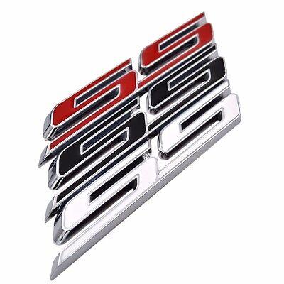 "Latest 5/"" SS Letter Grille Fender Trunk Emblem Badge for Chevy Camaro 2016-2017"