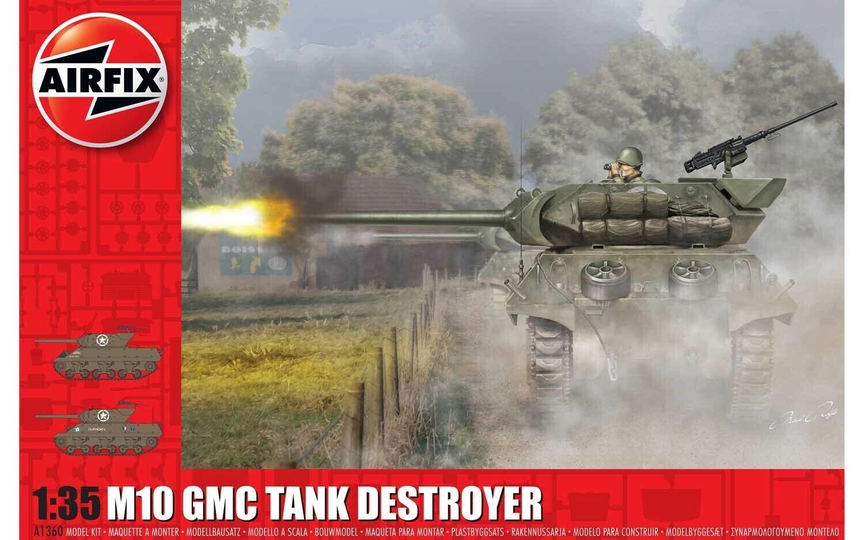 primera vez respuesta Airfix 1 35 M10 GMC Serbatoio Distruttore Distruttore Distruttore  A1360  precios razonables